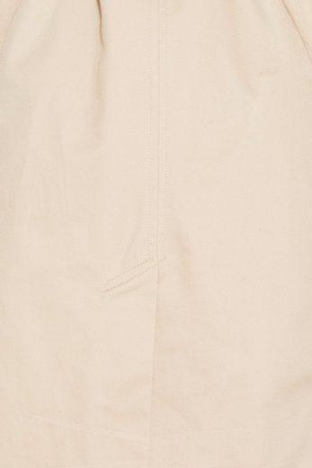 ESPRIT Baumwoll-Trench mit leichtem Steppfutter