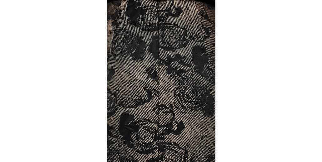 ESPRIT COLLECTION Schimmernder Rock mit Jacquard-Blüten Nett Günstig Versandkosten oKFWZ