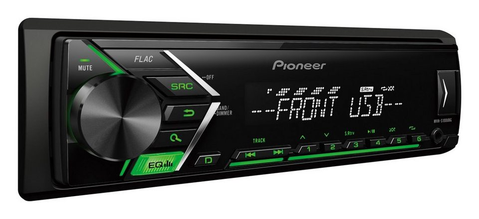 pioneer 1 din autoradio mit usb mp3 aux in mvh s100ubg online kaufen otto. Black Bedroom Furniture Sets. Home Design Ideas