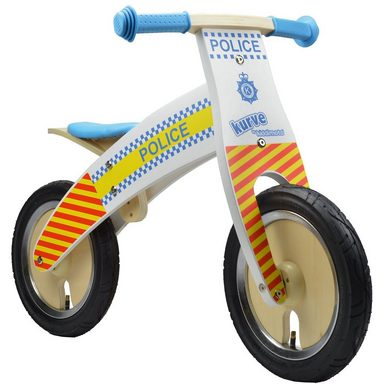 Kiddimoto kaufen Laufrad Premium Police Man Bobby kaufen Kiddimoto 065024