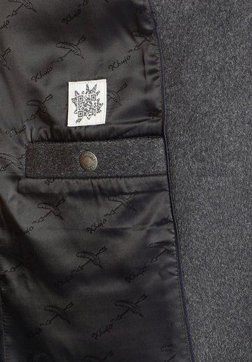 khujo Wollmantel BRITNEY, mit aufgesetzten Taschen
