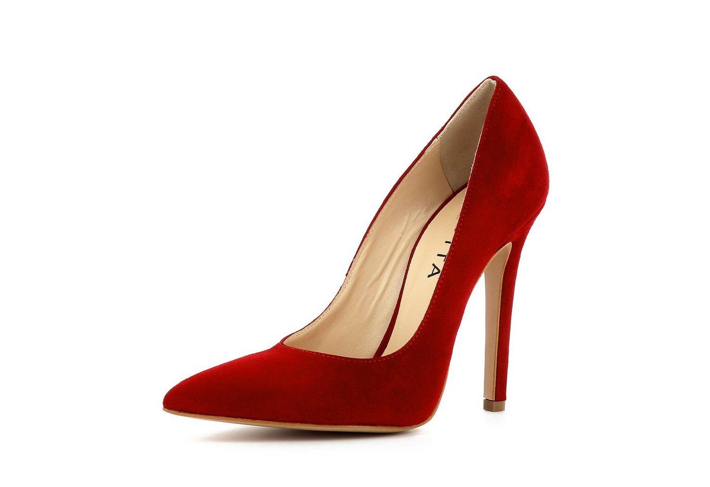 Evita »LISA« High-Heel-Pumps | Schuhe > High Heels | Rot | Evita