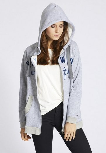 Khujo Long Sweatshirt Lungia, With Lateral Pushbutton Afford