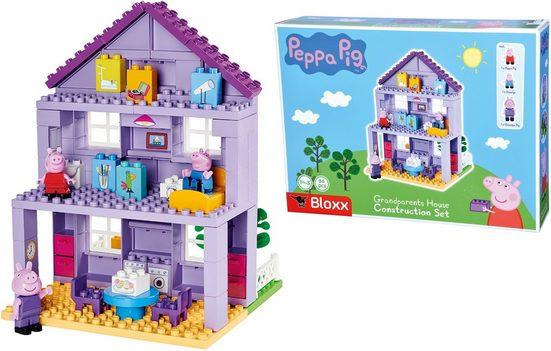BIG Spielbausteine »BIG-Bloxx Peppa Pig Grandpa´s House«, (86 St), Made in Europe