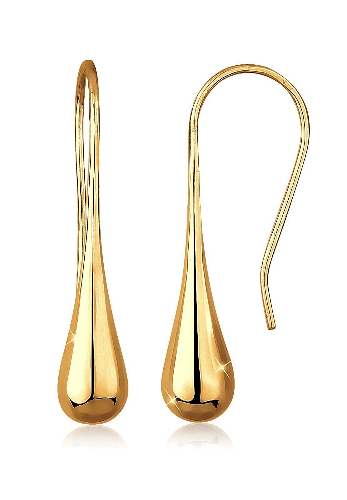 Goldhimmel Ohrringe »Tropfen 925 Sterling Silber vergoldet«
