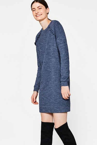 EDC Sweat-Kleid mit ORGANIC COTTON