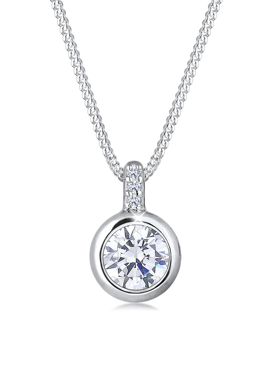 Elli Halskette »Zirkonia 925 Sterling Silber S0104320816«
