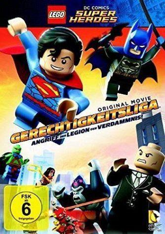 Blu-ray »Lego - Gerechtigkeitsliga: Angriff der Legion...«