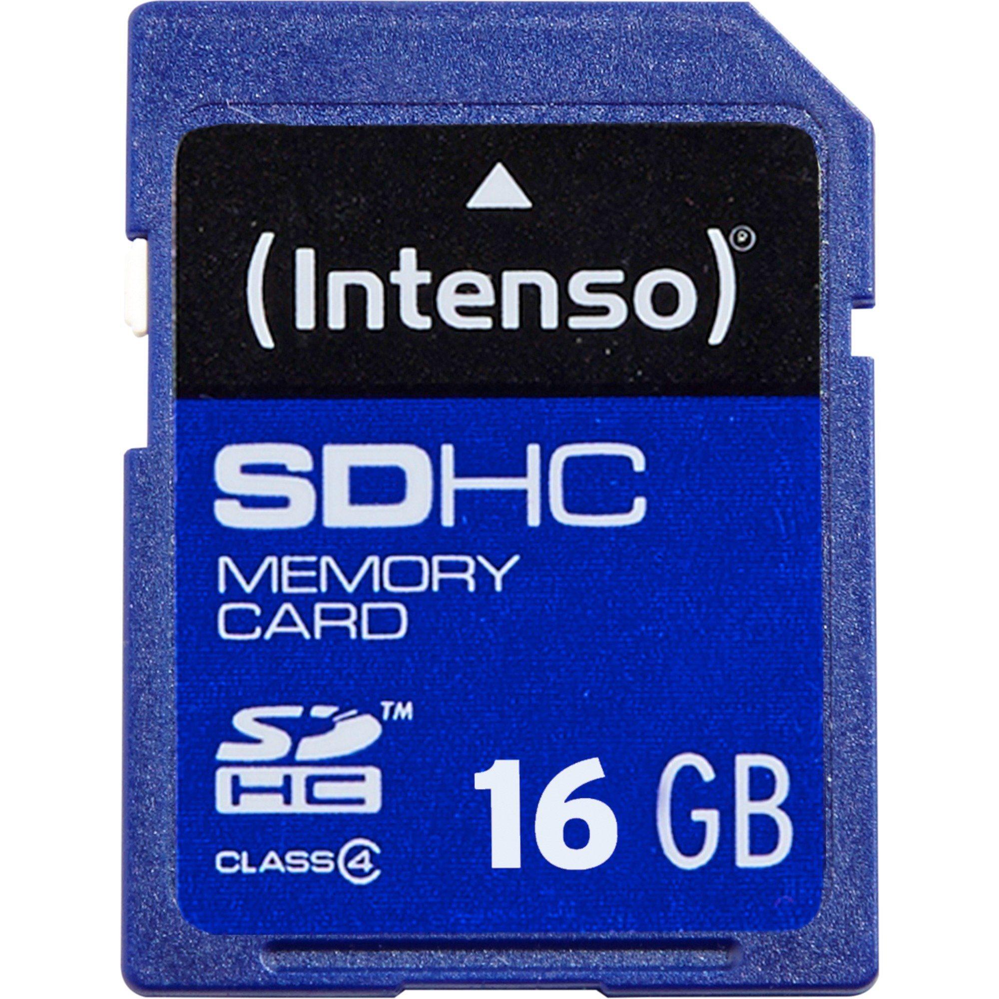 Intenso Speicherkarte »Secure Digital SDHC Card 16 GB, Class 4«