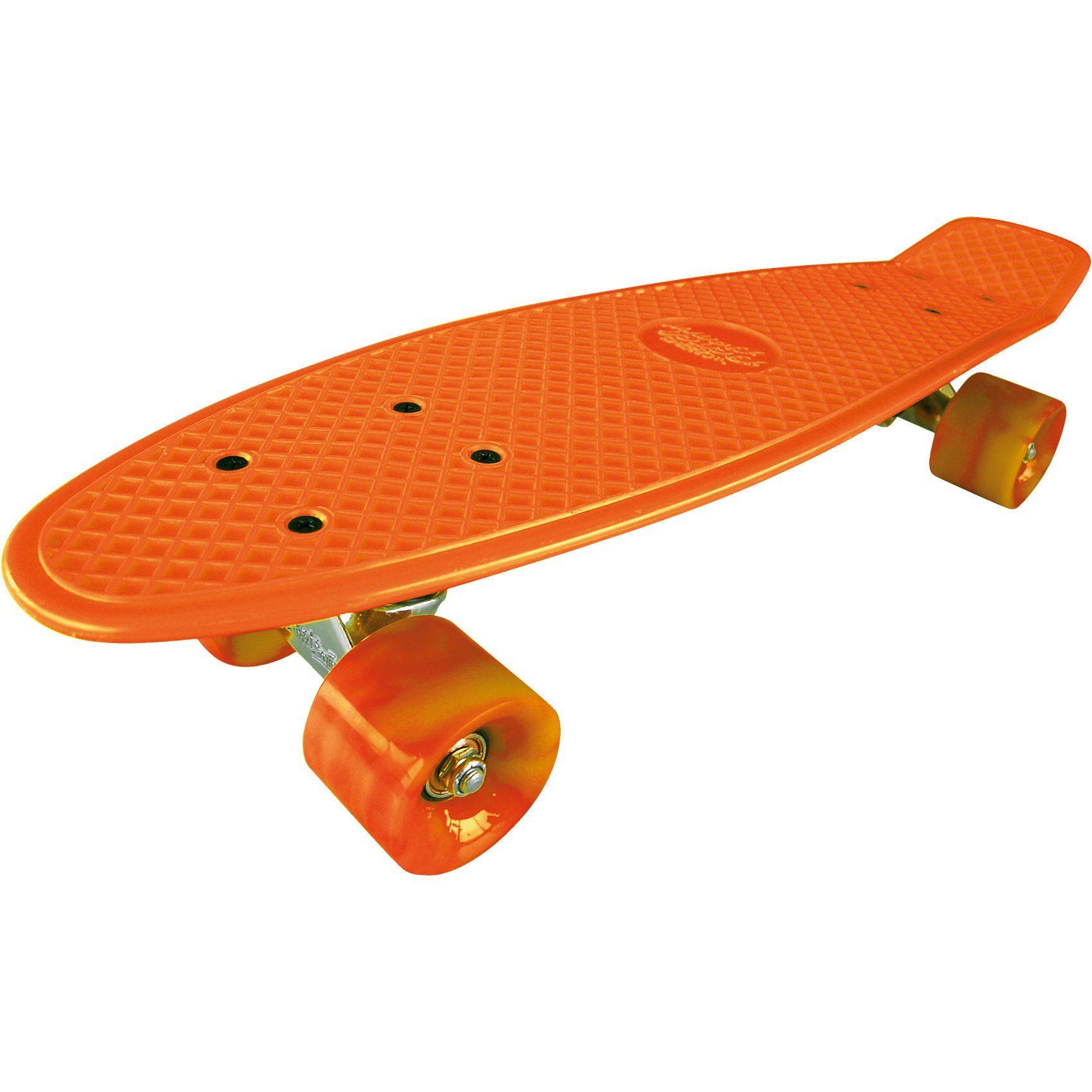 Streetsurfing Beachboard - Gnarly Sunset, orange