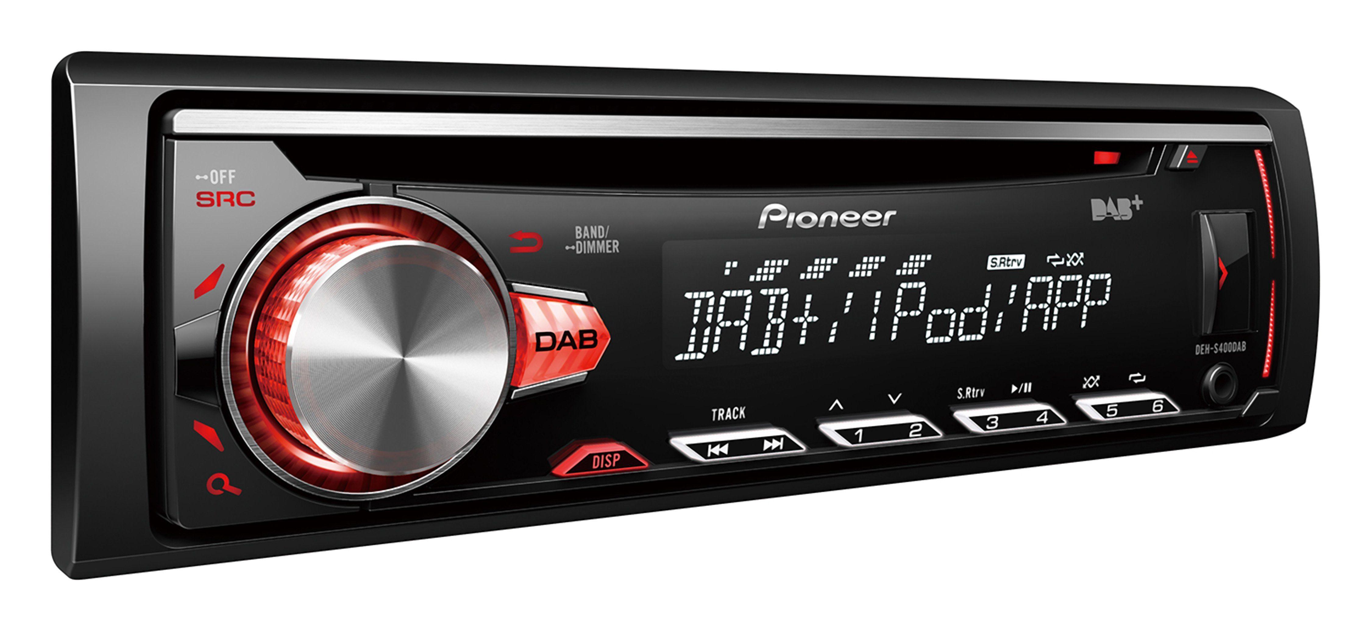 PIONEER 1-DIN Autoradio mit DAB-/DAB+-/RDS-Tuner »DEH-S400DAB«
