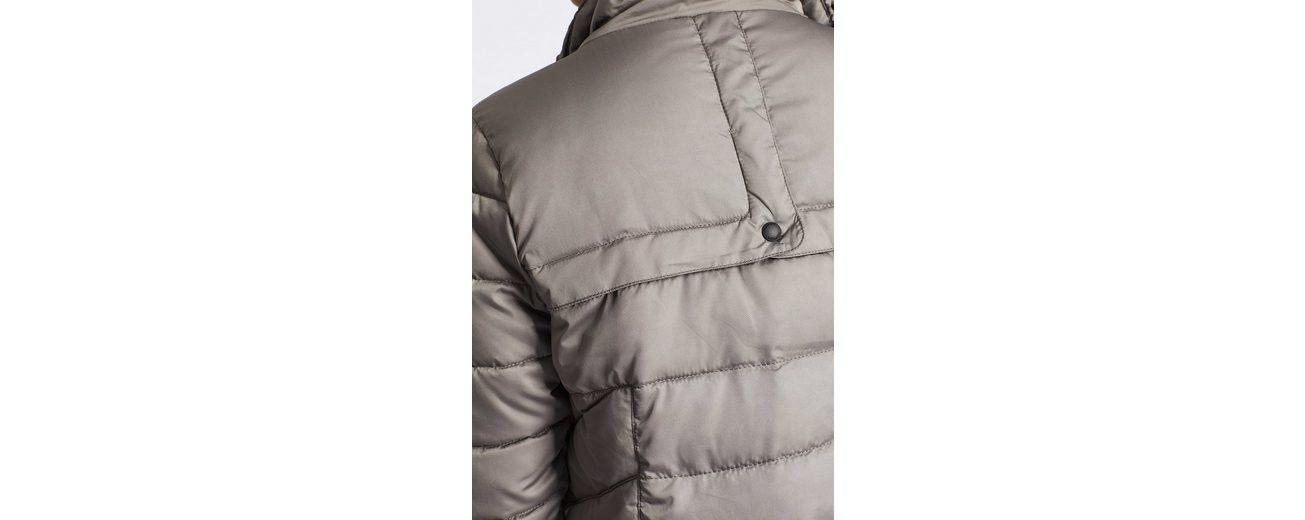 khujo Steppmantel NYRA, mit Fleece-Einsatz im Stehkragen