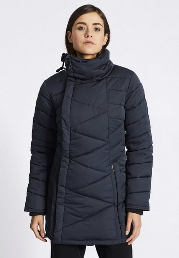 Khujo Quilted Coat Nyra, With Fleece For Use In Stehkragen