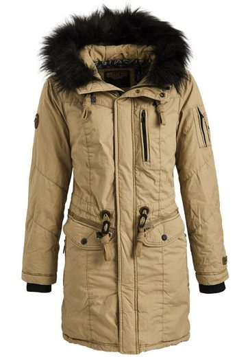 Khujo Winter Coat Anastina With Detachable Faux Fur On The Hood