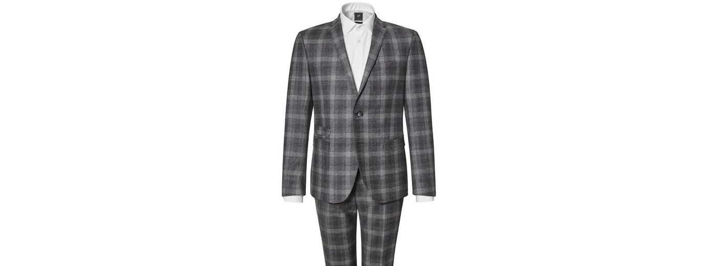 Mode Online-Verkauf PIERRE CARDIN Karierter Anzug aus reiner Schurwolle - Slim Fit Oliver Bertrand Freies Verschiffen Verkaufsschlager ICP44si