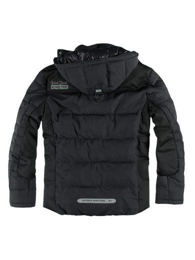 engbers Jacke im sportiven Materialmix