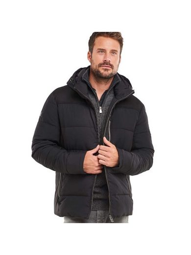 engbers Jacke im sportiven Materialmix