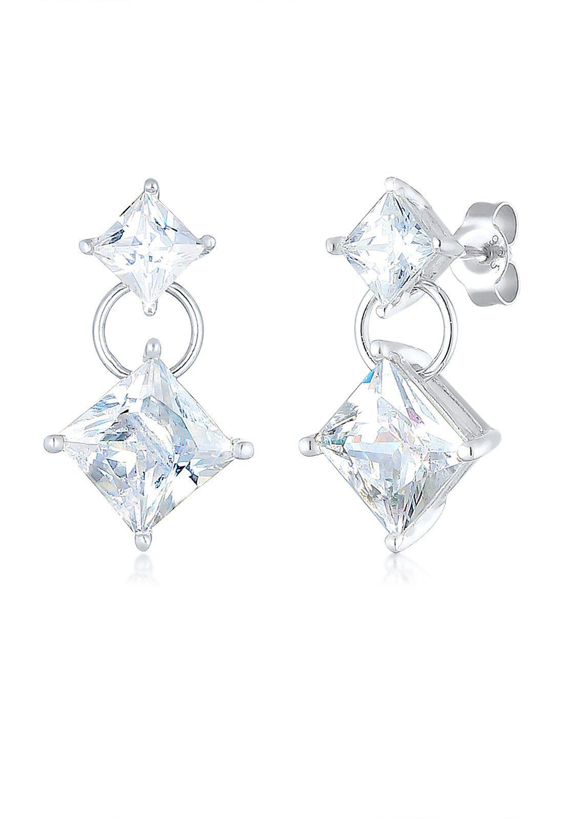 Elli Ohrringe »Zirkonia Kristall 925 Sterling Silber«