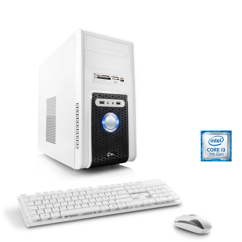CSL Multimedia PC | Intel Core i3-7300 | GeForce GT 1030 | 8 GB RAM »Speed T5854 Windows 10 Home«