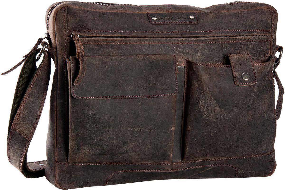 Greenburry Notebooktasche / Tablet »Vintage Revival Sattle Bag«