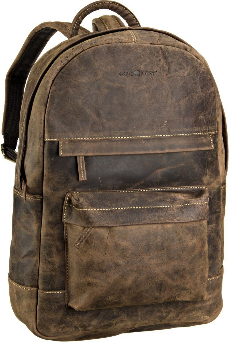 Greenburry Laptoprucksack »Vintage Rucksack Zip Around«