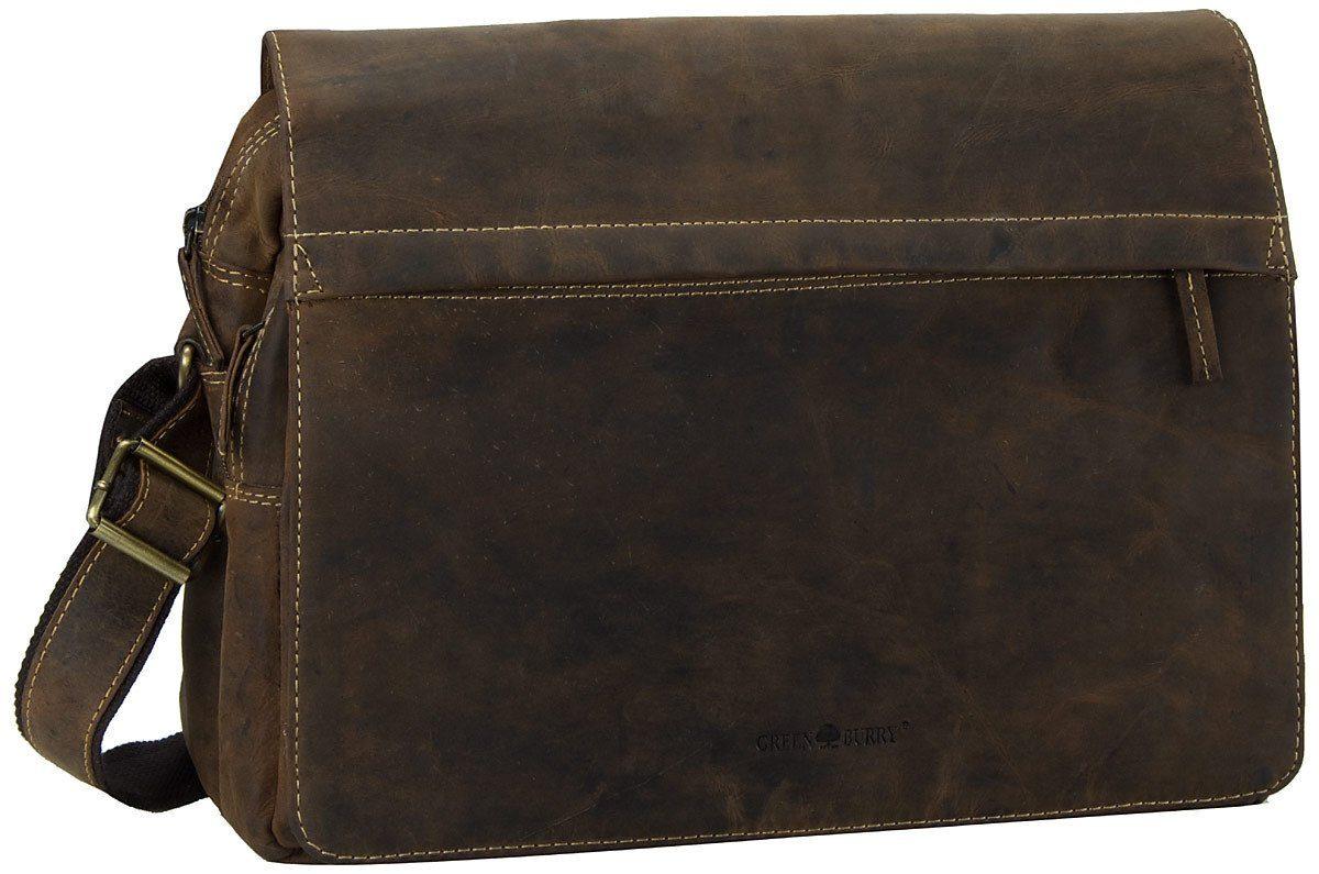 Greenburry Umhängetasche »Vintage A4 Tasche«