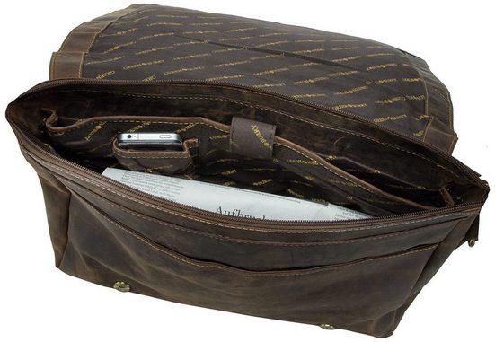Greenburry Notebooktasche / Tablet Vintage XXL Tasche