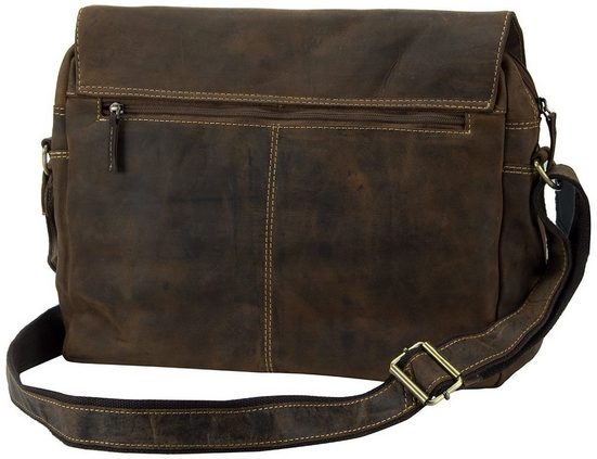 Greenburry Umhängetasche Vintage A4 Pocket