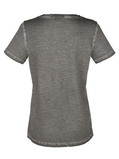 Amy Vermont Shirt Mit Paillettenmotiv
