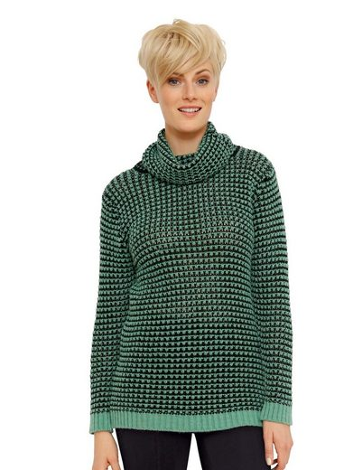 Amy Vermont Pullover in Grobstrickmuster