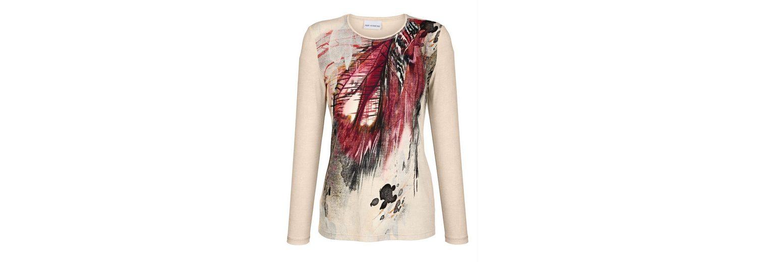 Zu Verkaufen Sehr Billig Amy Vermont Shirt allover bedruckt Auslass Eastbay jPMVjaZqrD