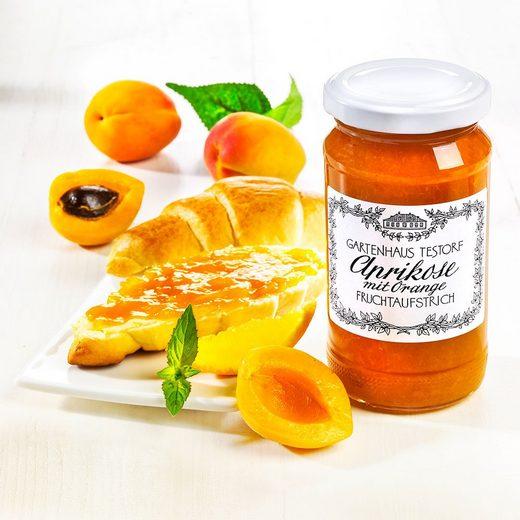 Gartenhaus Testorf Aprikose-Orange Fruchtaufstrich