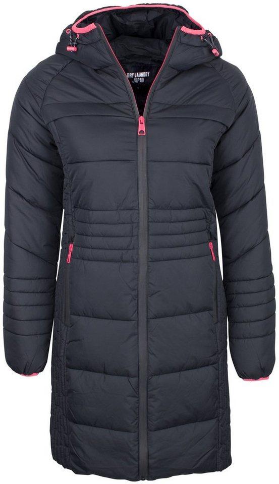 Damen DRY LAUNDRY  Wintermantel Mantel schwarz | 04059275100591