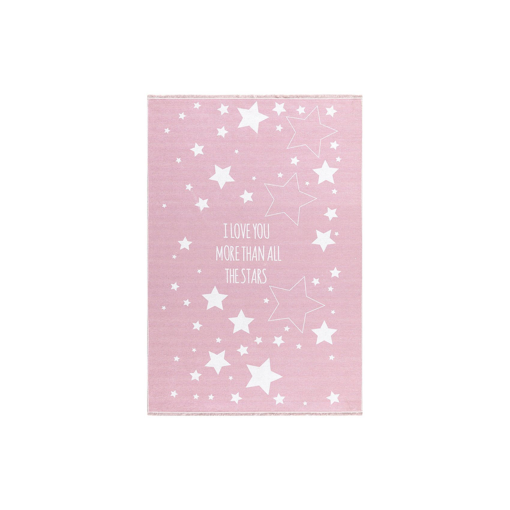 Happy Rugs Kinderteppich, LOVE YOU STARS, In- Outdoor | Kinderzimmer > Textilien für Kinder > Kinderteppiche | Polyester | Happy Rugs