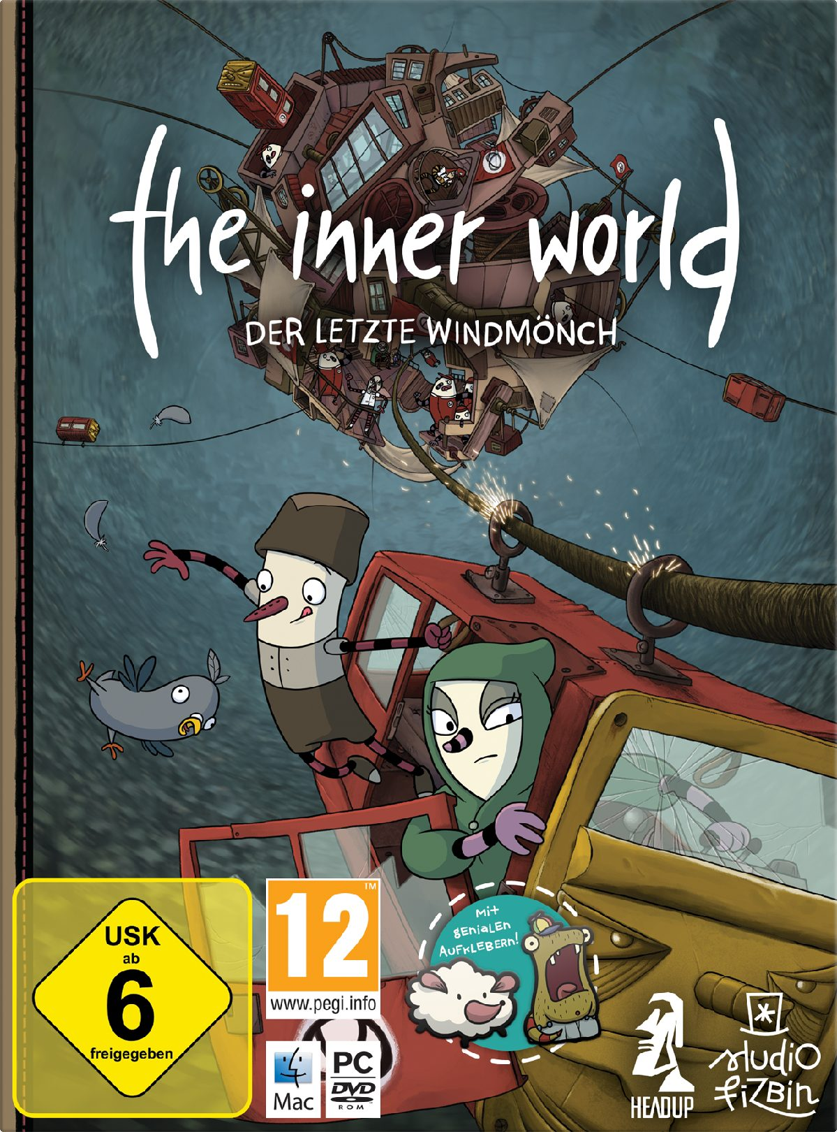 NBG The Inner World - Der letzte Windmönch »PC«
