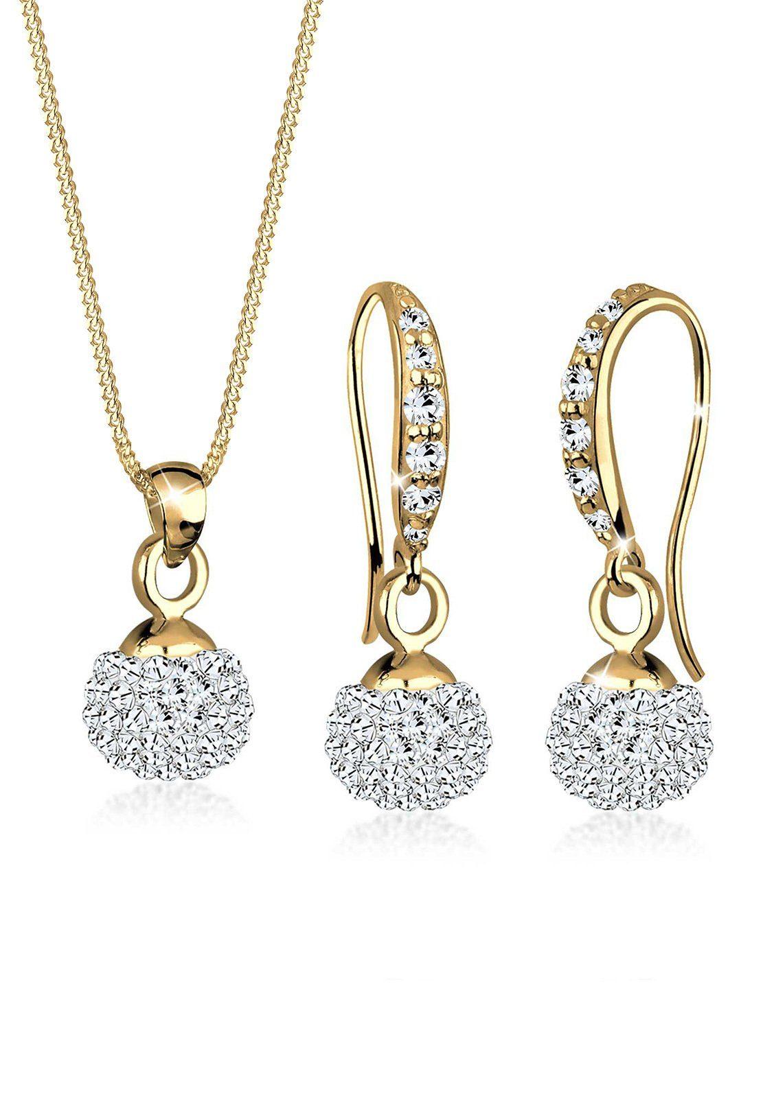 Goldhimmel Set: Schmuckset »Swarovski® Kristalle 925 Silber« 2 tlg.