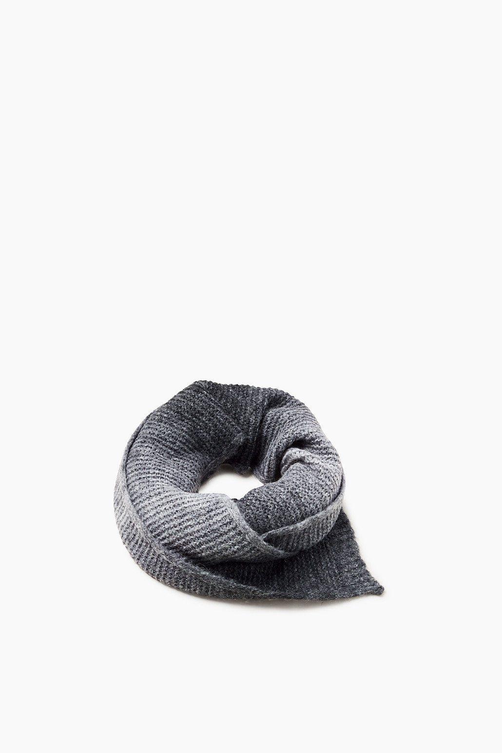 EDC Melierter Strick-Schal mit Wolle