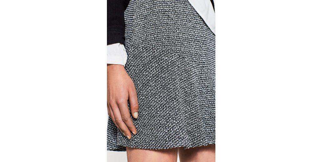 Amazon Günstig Online EDC BY ESPRIT Asymmetrischer Rock mit Tweed Günstig Kaufen Original Große Diskont Günstig Online Verkaufskosten 7DSriVUc