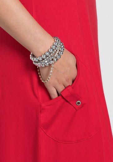 sheeGOTit Jerseykleid, mit 2 aufgesetzten Taschen