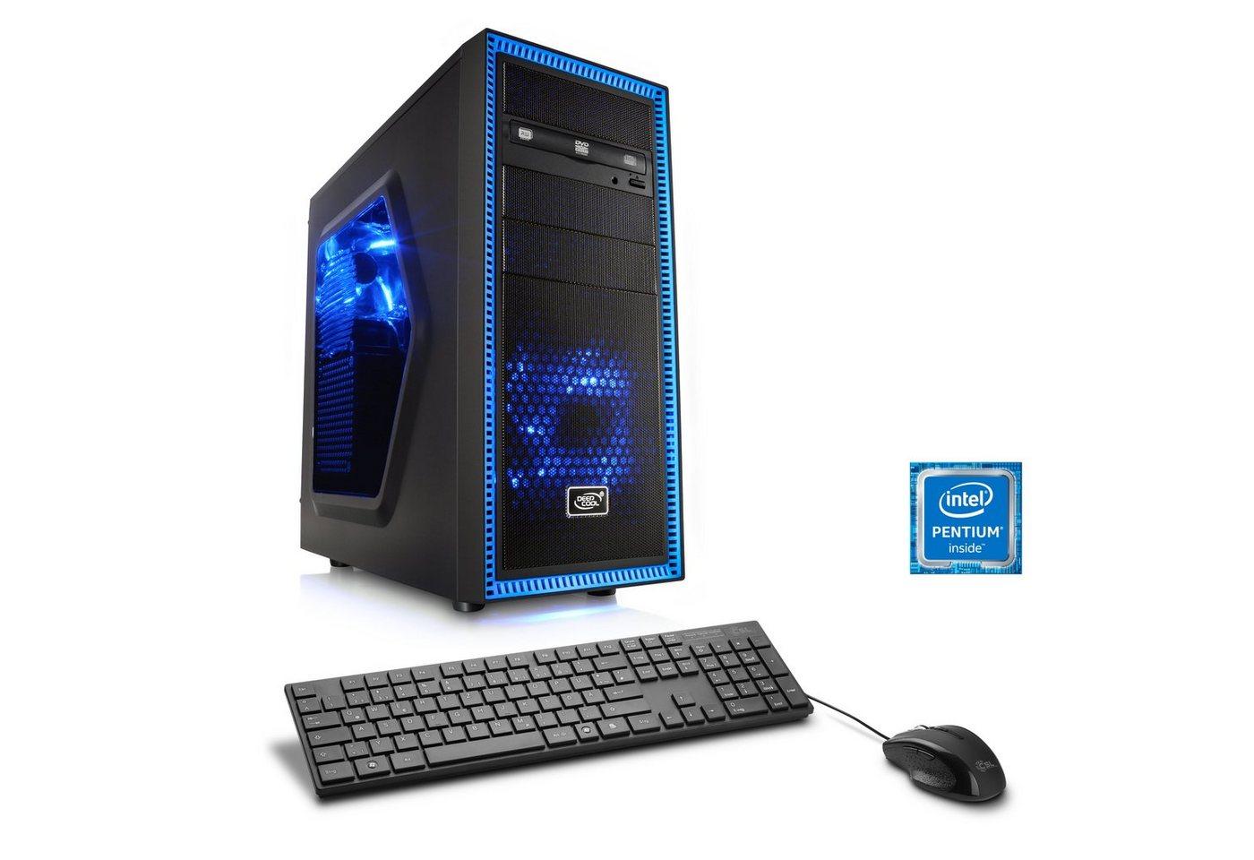 CSL Multimedia PC | Pentium G4560 | GeForce GT 1030 | 8 GB DDR4 RAM »Speed T1833 Windows 10 Home« - Preisvergleich