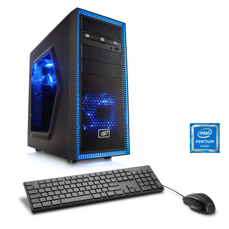 CSL Multimedia PC | Pentium G4560 | GeForce GT 1030 | 8 GB DDR4 RAM »Speed T1833 Windows 10 Home«