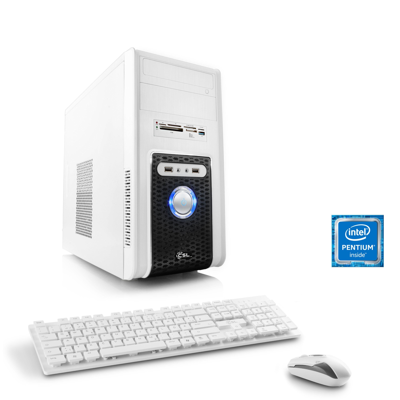 CSL Multimedia PC | Pentium G4560 | GeForce GT 1030 | 8 GB DDR4 RAM »Speed T1817 Windows 10 Home«