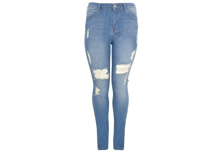 Yoek Straight-Jeans ELLA, High Waist