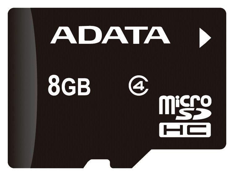 ADATA microSDHC Speicherkarte »microSDHC Class 4 8GB«