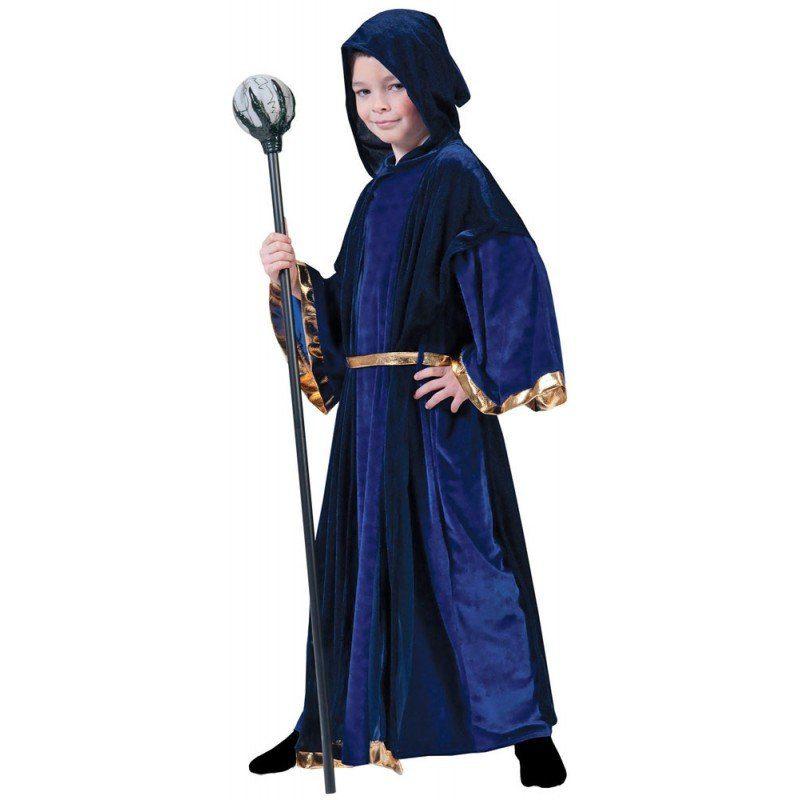 Magic Wizard Zauberer Kostüm für Kinder
