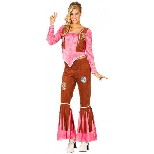60's Hippie Stella Flower-Power Kostüm