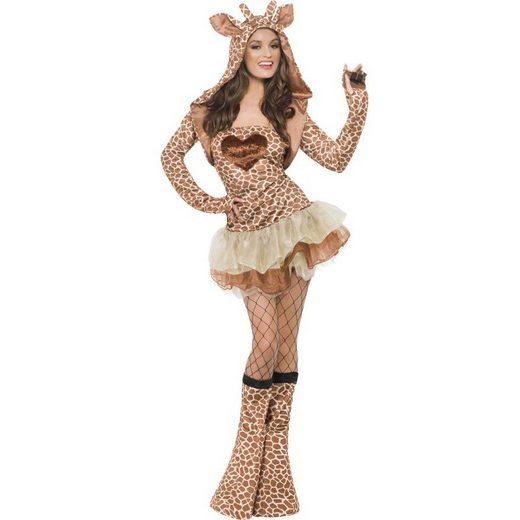 Sexy Giraffen Damenkostüm