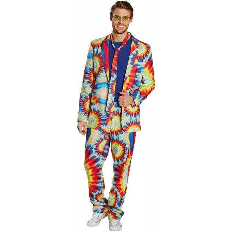attraktive Mode aliexpress das billigste Freaky Batik Anzug für Herren, Farbenfrohes Design online kaufen | OTTO
