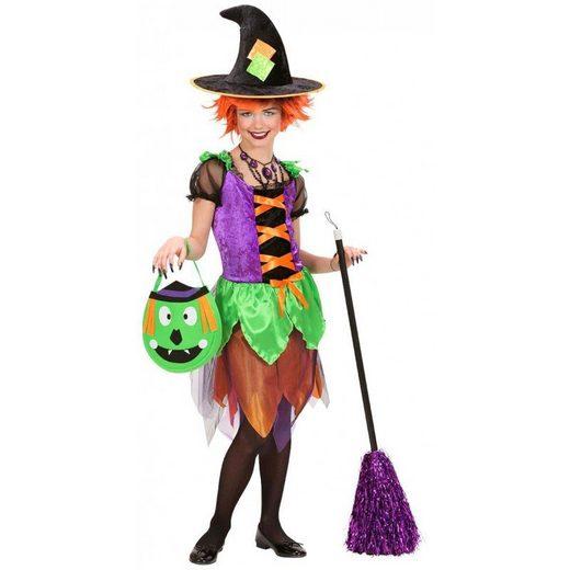 Freaky Witch Hexenkostüm lila-grün-orange