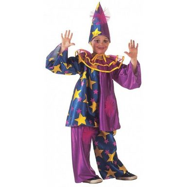 Sternen Clown Kostüm für Kinder